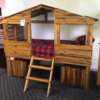 Twin Treehouse Bed