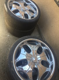 Rims with tires Bakersfield, 93305