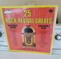 25 ROCK REVIVAL GREATS RECORD  Ripon, 95366