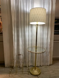 Gold Table-Lamp