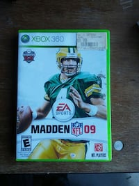Madden NFL 09 Xbox 360 game case Martinsburg, 25401