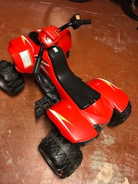 Red and black atv ride-on toy Longwood, 32779