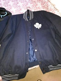 black and white button-up jacket Hamilton, L8R 3H4