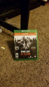 Xbox One Dying Light game case Nampa, 83651