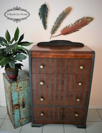 Waterfall dresser with Old World Stripes Coral Springs, 33067