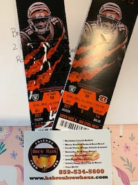 Bengals tickets with $100 Brew Haus gift card Florence, 41042
