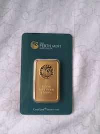 Perth Mint Australia 1 Ounce Gold  Kitchener