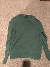 Polo sweater sz L Windham, 04062