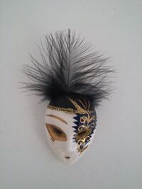 Venetian Mask Brooch Burnaby