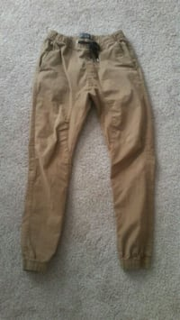 brown denim straight-cut jeans 23 km