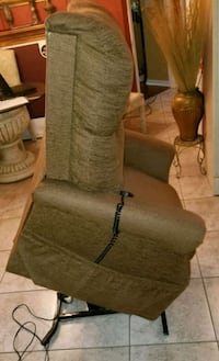 brown fabric  recliner and lift chair Lakeland, 33811