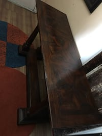 Wood console table New York, 10040