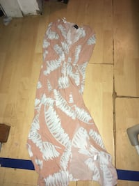 Small maxi dress with slit
