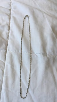 Silver Chain Necklace Winnipeg, R2L 0A6