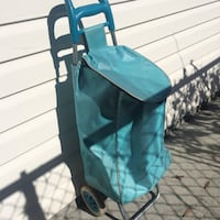 baby's teal and black stroller Maple Ridge