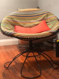 Chair, mixed colors, good condition  Toronto, M5A 4L4