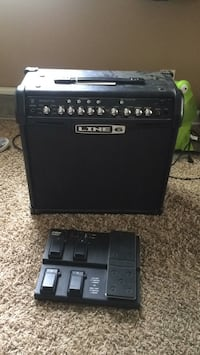 Guitar amp with pedal Fargo, 58103