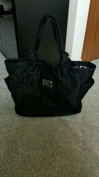 black leather 2-way bag 227 mi