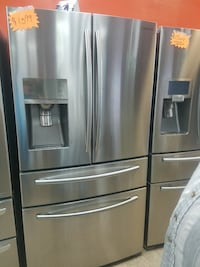 SamsungFrench doors stainless steel Refrigerator Lawrenceville, 30046