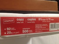 Staples Multi-Purpose Paper Toronto, M2R 3P6
