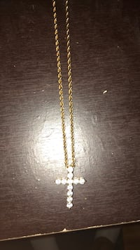 gold-colored chain necklace South Bend, 46619