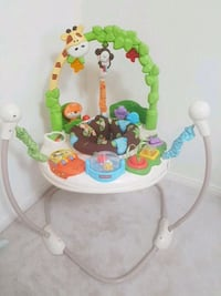 baby's white and green Fisher-Price jumperoo Milton, L9T 8P3