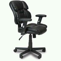 black leather office rolling armchair Houston, 77092
