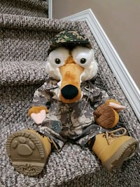 Soldier Scrat Build-a-bear Edmonton, T6T 1T9