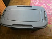 49 gal Blue storage Tote-$35   Knoxville, 50138
