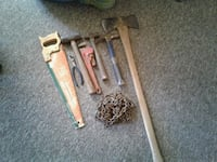 two brown wooden handled tools Louisville, 40214