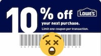 I have Lowe's coupons for Sale Archbald, 18403