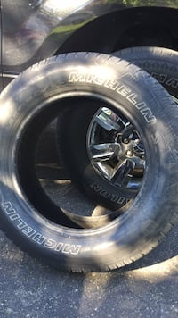 P265/60R18. F-150 pickup truck tire . 70-75 % tire wear still. Only one tire . $40 .  Was used on my spare tire . No patches or plugs!!!!  Brampton, L6S 2Z5