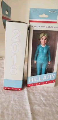 2 Hilary Clinton Ready for Action Figures