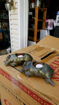 Copper pig candle holders Alexandria, 22310