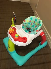 Baby's white and green Kolcraft walker Arlington, 22202