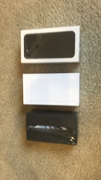 black iPhone 7 with box Silver Spring, 20902