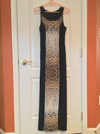 New Black Printed Maci Dress Gainesville, 20155