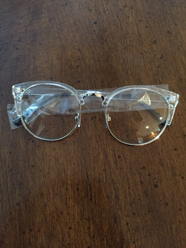 e263825b4409 Used silver framed clubmaster eyeglasses for sale in Wilmington - letgo