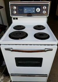 """Kenmore 24"""" stove, 1 year warranty"""