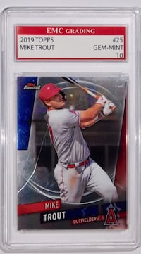 2019 Topps Mike Trout Card~ GEM MINT 10