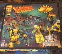 X-MEN VINTAGE BOARD GAME 1994 Montréal, H1L 4H2