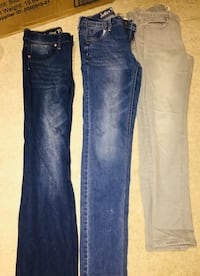 """3 pairs of """"Justice """" jeans 12,14,18 Fairfax, 22030"""
