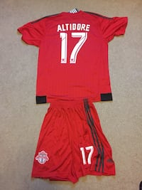Jozy Altidore TFC soccer jersey and shorts Guelph, N1E 7L8