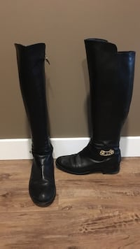 Marciano black boots size 7 comfortable fit Burnaby