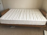 Wooden futon with newly mattress Centreville