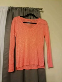 So peach/orange long sleeve. Size Medium  Spotsylvania Courthouse, 22553