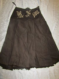 women's size 10 brown skirt London