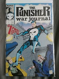 Punisher War Journal comic book 1st issue