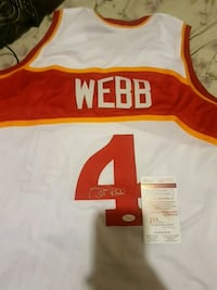 white and red Webb 4 signed basketball jersey Richmond Hill, L4S 1A1