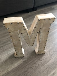 Letter M Wall Decor King City